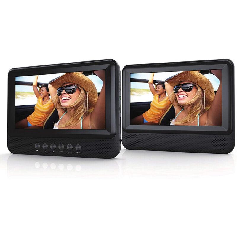 """Sylvania Dual Screen Portable 7"""" DVD Player - SDVD7751"""