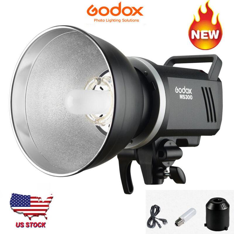 Godox MS300 300WS Studio Strobe Flash Light Lamp Monolight Lightweight 110V US