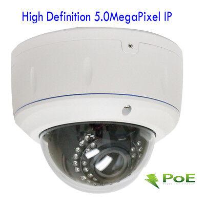 5.0MegaPixel PoE ONVIF 1920P 2.8-12mm Lens Weatherproof Security Camera (HD-IP)