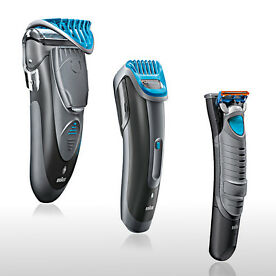 Selection of Braun CruZer Precision Trimmers from