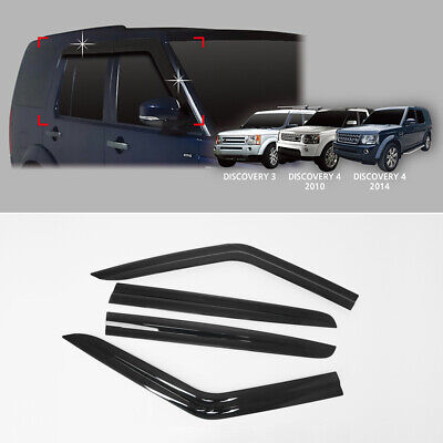 Door Sill Scuff Plate Guard Trim For LAND ROVER DISCOVERY 3//4 LR3 LR4 2005-2016