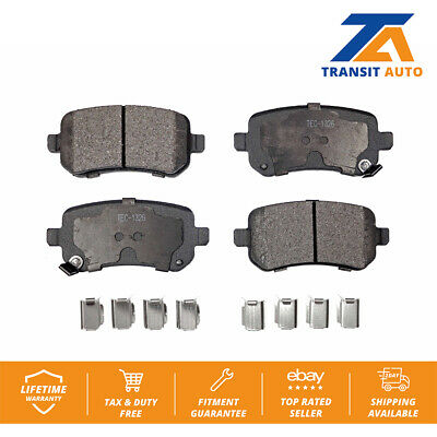 Grand Rear Brake Pads (Rear TEC Ceramic Brake Pads Fits Dodge Grand Caravan Chrysler Town &)