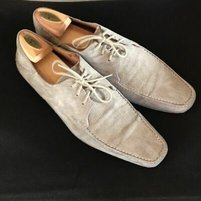 Very Stylish Men's Taupe Zara Brushed Suede Casual Oxford Shoes Sz 8.5