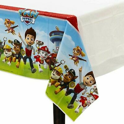 PAW PATROL TABLE COVER Birthday Party Suplies Decoration plastic 54