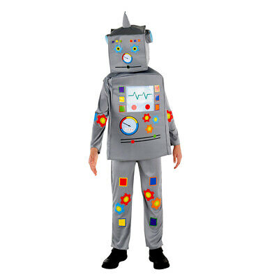 Child Classic Robot Halloween Costume - Classic Kid Halloween Costumes