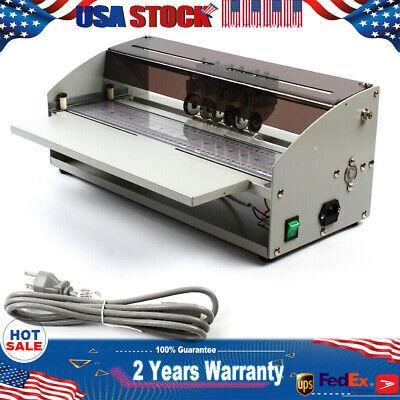18 Electric Labor-saving Perforator Paper Creasing Machine Scoring 460mm Paper