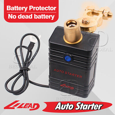 Battery Protector Auto Starter Automatically Control Car Battery Disconnect Kit (Automatic Car Starter Kit Jeep)