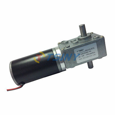 12v Dc Double Shaft Electric Right Angle Gear Reduction Motor 160rpm Ts-40gz595