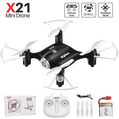 Syma X21 2.4G Mini RC Drone with Hover Headless Mode Quadcopter RC Toys for Kids