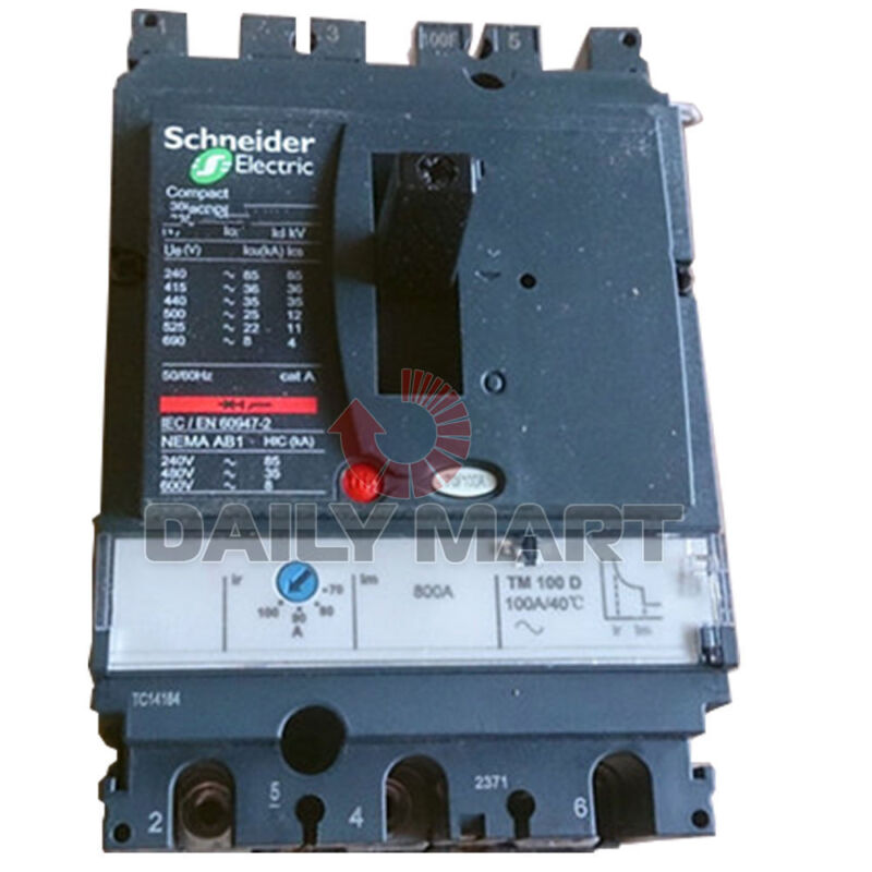 Schneider Electric LV430775 Solid State Compact NSX Molded Case Circuit Breakers
