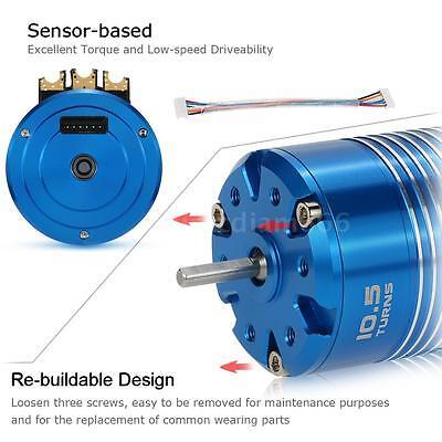 High Quality 540 10.5T 3450KV Sensored Brushless Motor for 1/10 RC Car BEST