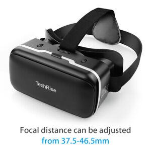 3D Virtual Reality Glasses VR Headset Box Helmet for Smartphone Samsung iPhone