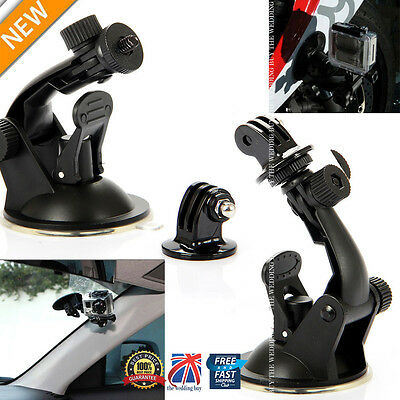 Car Windscreen Window Suction Cup Mount Holder Stand for GoPro Hero HD 1 2 3 3+4