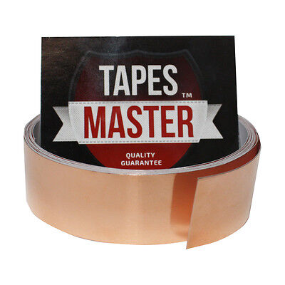 Copper Foil Tape - 1 X 10ft - Emi Conductive Adhesive Ship From Usa