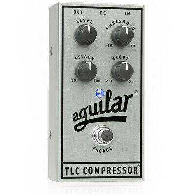 Aguilar 25th Silver Anniversary Edition TLC Compressor Bass Effects Pedal
