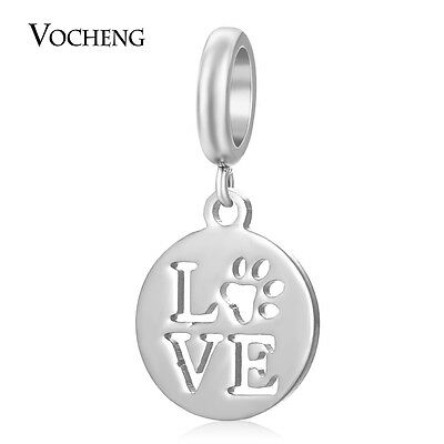 (Stainless Steel Charms Endless Charms Love DIY Accessories VC-390)