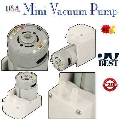 12v Vacuum Micro-pump High Pressure Suction Diaphragm Pump Engineering Plastic