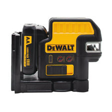DEWALT 12V MAX Compatible 5 Spot & Cross Line Red Laser DW0825LR Reconditioned