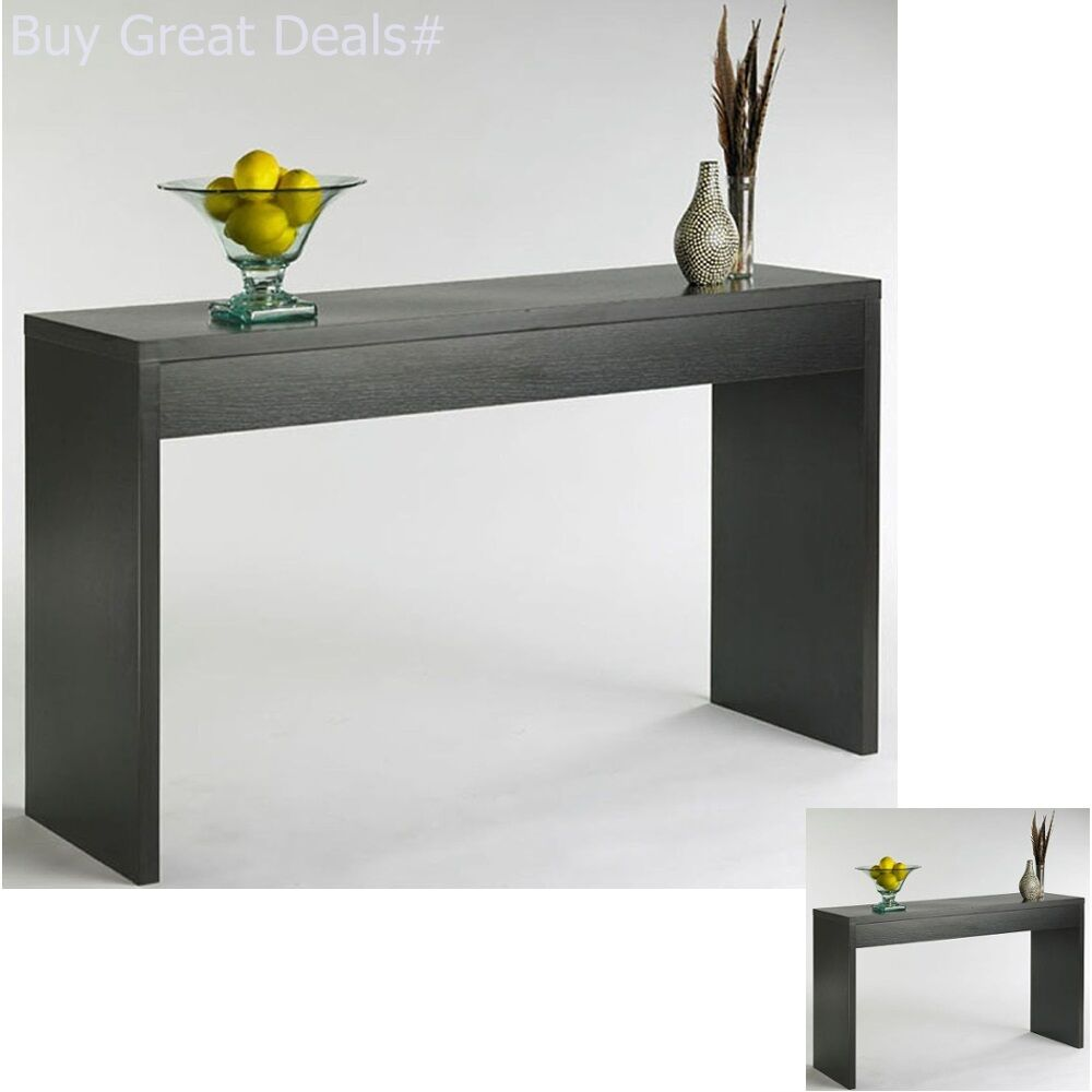 Details about modern console table hallway accent table hall sofa decor living room furniture