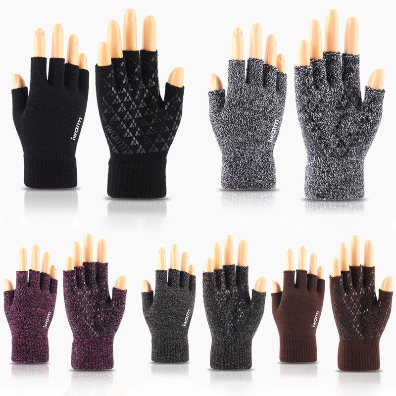 Elegant Women Bowknot Winter Warm Gloves Touch Screen Full Finger Mittens Striki
