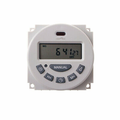 L701 Dc 12vac 110v220v Digital Lcd Power Programmable Timer Time Switch Relay