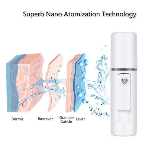 Nano Facial Mister Mini Portable Water Spray Facial Steamer