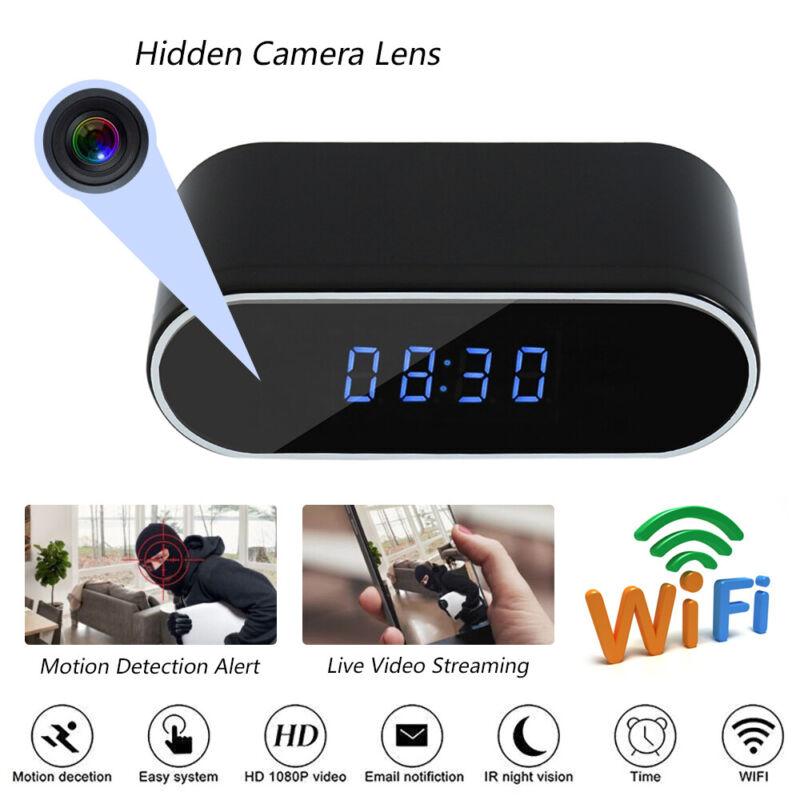 1080P Wireless Hidden Spy Camera Mini Micro DVR WIFI Securit