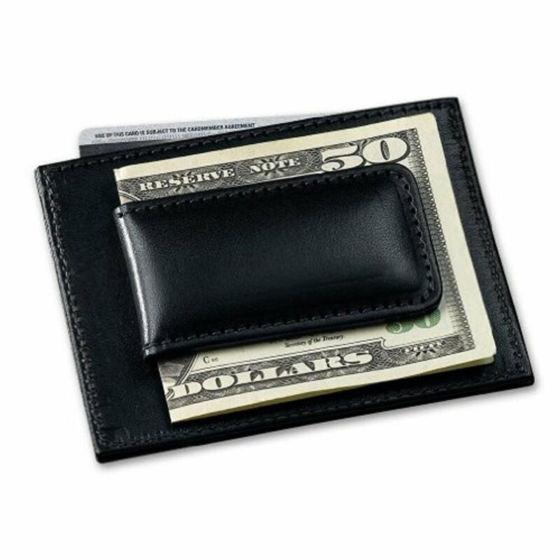 Filson Money Clip with Credit Card Case   Black