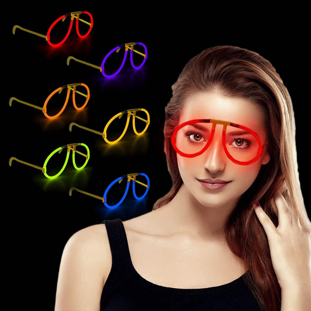 g709 glow stick eye glasses assorted colors