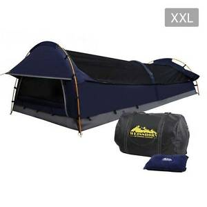 AUS FREE DEL-Compact Deluxe King Single Swag Camping Swag Navy Sydney City Inner Sydney Preview