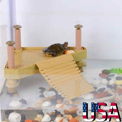 Turtle Pier Basking Platform Reptile Floating Dock Aquarium Fish Tank Decor - Reptile Decor