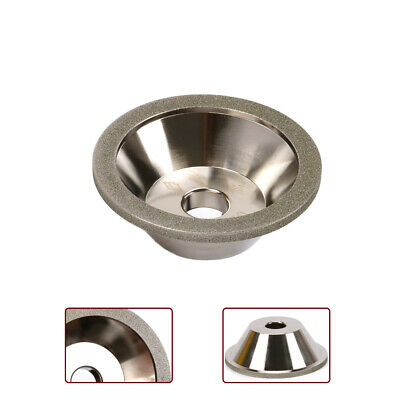 4 Inch Diamond Grinding Wheel Cup Carbide Rotary File Cutter Grinder 240 Grit