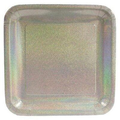 - 24 Pieces Creative Converting Glitz Silver 7