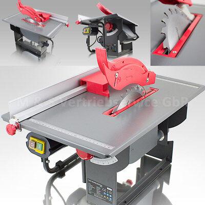 BITUXX® Mobile Tischkreissäge 800 Watt Kreissäge inkl. Absaugung und Zubehör
