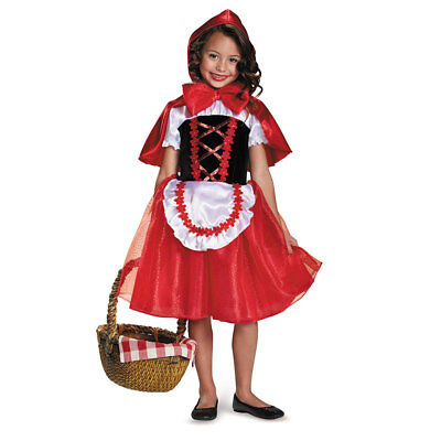 Storybook Costumes For Girls (Girls Storybook Lil Red Riding Hood)