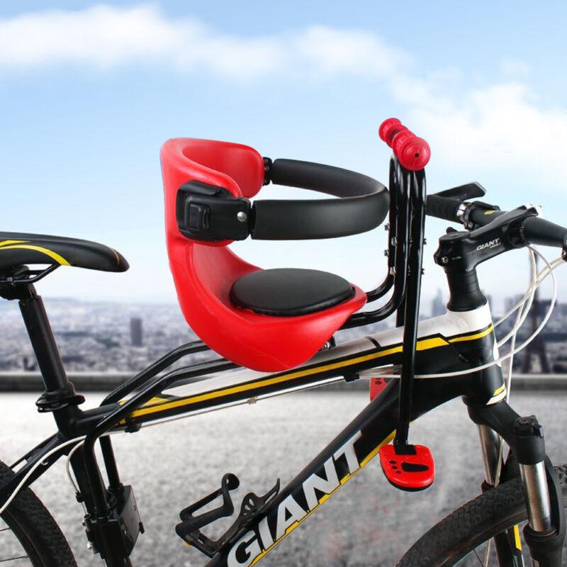 Kinderfahrradsitz Fahrrad Kindersitz Fahrradsitz Vorne Halterung bis zu 50kg