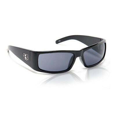 Hoven The One Sunglasses - Black Gloss - Grey Polarized - (The Sunglasses)