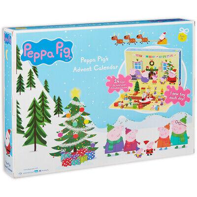 Peppa Pig Advent Calendar 2019 24 Days Worth of Toys