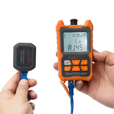 Portable Ftth Fiber Optical Power Meter -70 To 6dbm Optic Cable Tester Us Z7m9