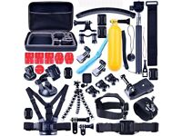 50 in 1 Sports Camera GoPro Hero Accessories Kit With Carry Pouch