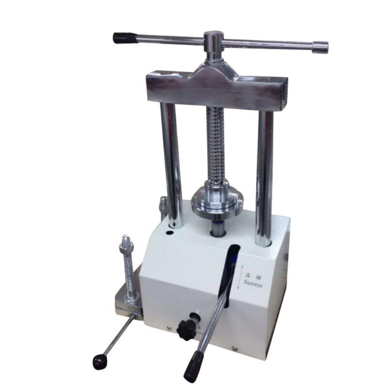 Dental Lab Hydraulic Press 80mm Lift Height Flask Presser Pressure W/Articulator