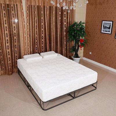 8  Inch Queen Cool Medium Firm Gel Memory Foam Mattress Bed With 2 Free  Pillows