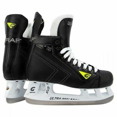 NEW Graf G755 Pro Adult Hockey Player Skate Regular Boot Size 8 - Graf Boot