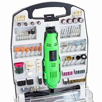 BITUXX 234tlg Mini Schleiferset Multifunktionswerkzeug Mehrzweckschleifmaschine