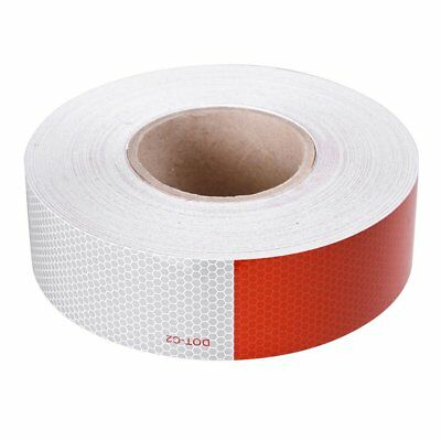 2x150 Dot-c2 Reflective Conspicuity Tape Safety Strip Sticker Truck Trailer Kj