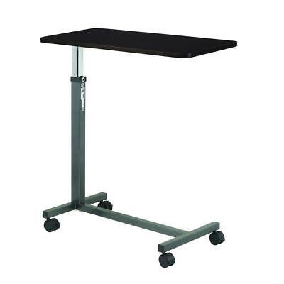 Overbed Table Medical Adjustable Bedside Hospital Rolling Tables With Wheels