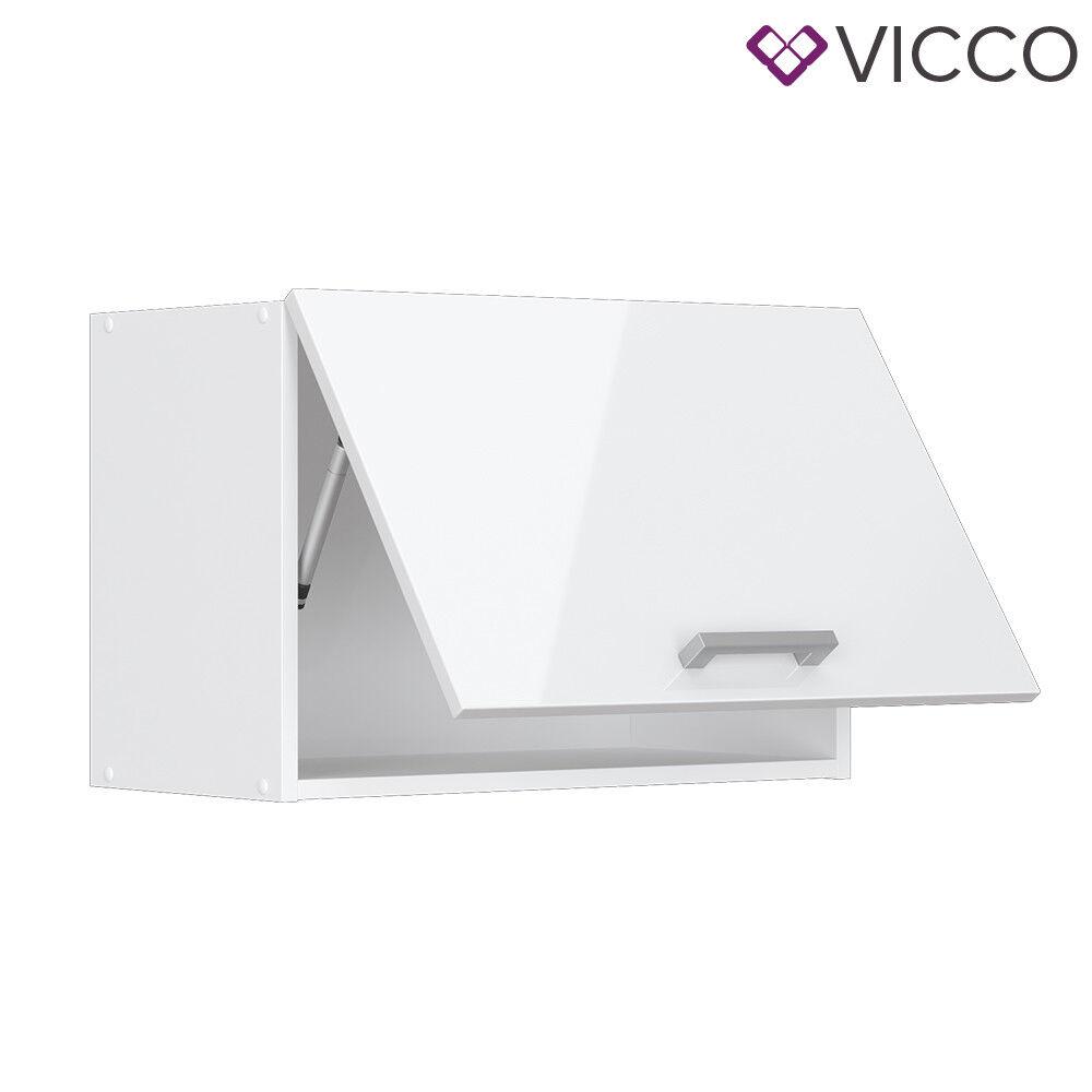 VICCO Küchenschrank Hängeschrank Unterschrank Küchenzeile R-Line Hängeschrank 60 cm (flach) weiß