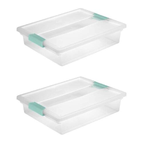 Sterilite Clip Box 1963 Large Storage Container Clear With A