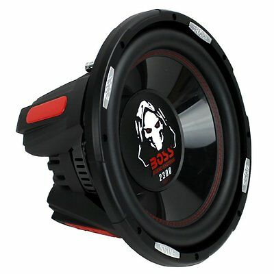 Boss Eidolon 12 Inch 2300 Watt Max Power Car Audio Subwoofer with DVC Power