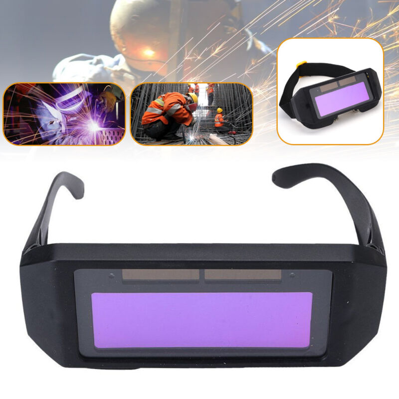 Solar Automatik Schweißerbrille Schweißen Schutzbrille Schweißerschutzbrille neu